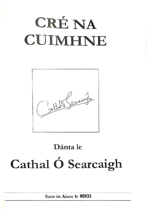 Cathal O Searcaigh