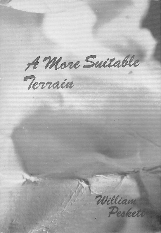 William Peskett: A More Suitable Terrain